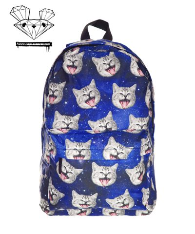 1GALAXY CAT backpack front