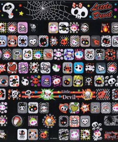 EMO Keyboard stickers Dark Kawaii skull