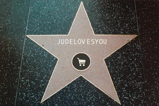 JDLY Hollywood star