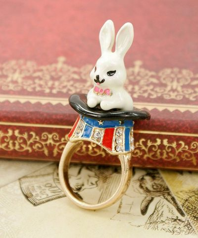 Magic Rabbit hat ring #1
