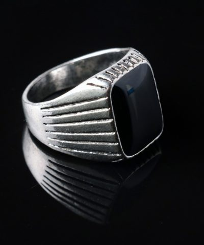 SIGNET RING New-Arrivals-Top-Quality-Punk-Vintage-Retro-Ancient-Silver-Plated-Fashion-Square-Retro-Wedding-Rings-for