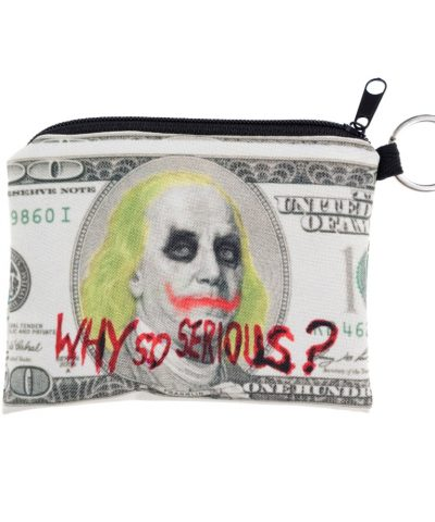 Why so serious dolla coin purse