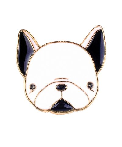 Doggy Dog pin Close up