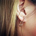 Party-Punk-Personality-Alloy-Safety-Pin-Puncture-Earring-Fashion-Piercing-Earrings-Black-Gold-Silver-Color-Free