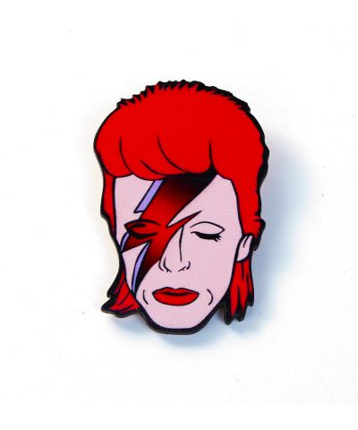 Bowie brooch