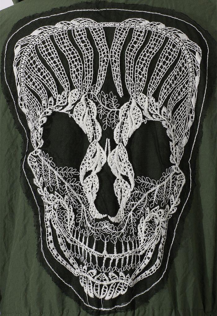 LACE Skull coat #2