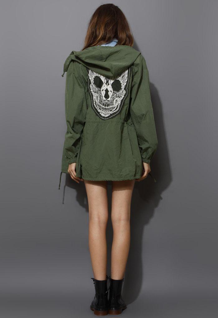 Lace Skull Coat #4