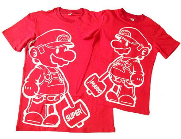 Mario Bros Tshirt Red