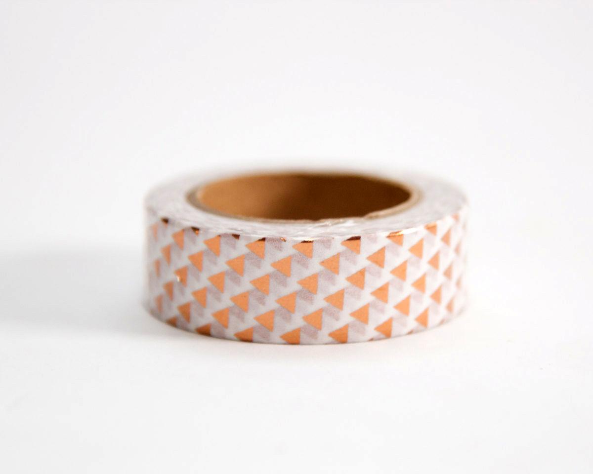 Geometric metallic washi tape judelovesyou for Geometric washi tape designs
