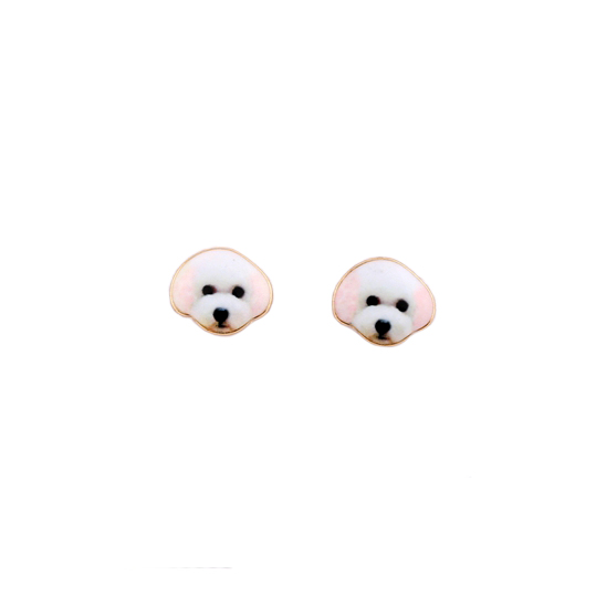 2016-new-3d-dog-earrings-arrival-fashion-cute-animal-mini-white-dog-head-stud-earrings-for-1