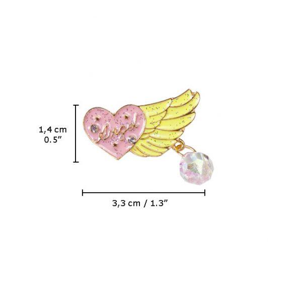 Loving Glitter Angel measur