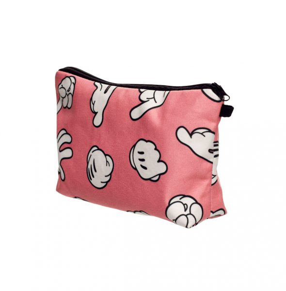 4New-3D-Printing-Dope-Hands-Cosmetic-Bag-Neceser-Portable-Pink-Make-Up-Bag-Women-Organizer-Bolsa-1