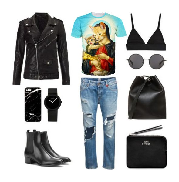 Holy Meow OOTD