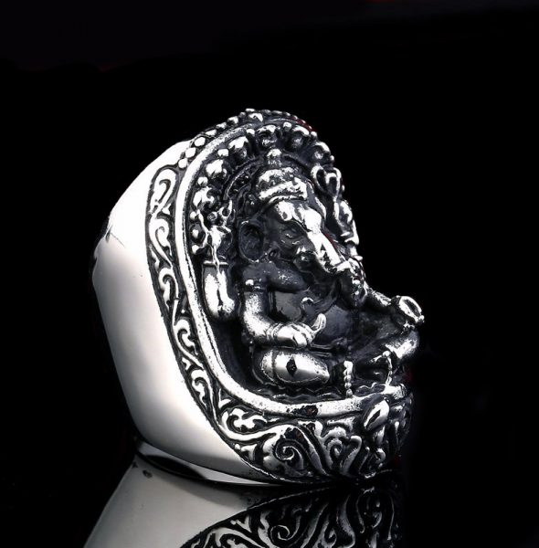 Beier-new-store-316L-Stainless-Steel-ring-high-quality-Thailand-Lucky-Elephant-Rings-Fashion-Man-s