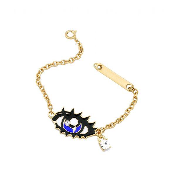 Blue-Eye-Charm-Bracelet-For-Women-Chains-Bracelet-Jewelry-2016-3