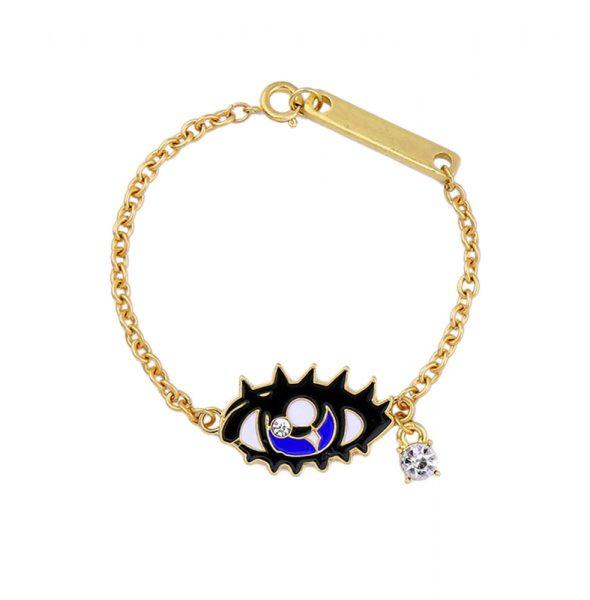 Blue-Eye-Charm-Bracelet-For-Women-Chains-Bracelet-Jewelry-2016