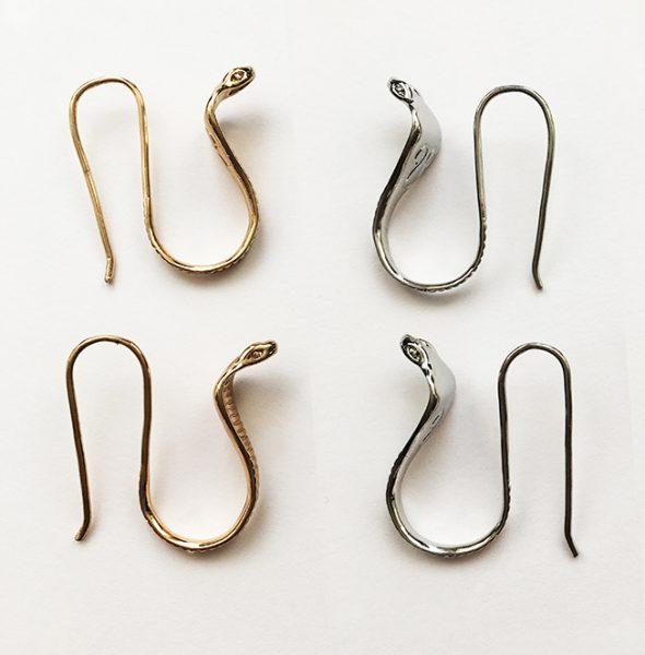 Cobra silver & gold