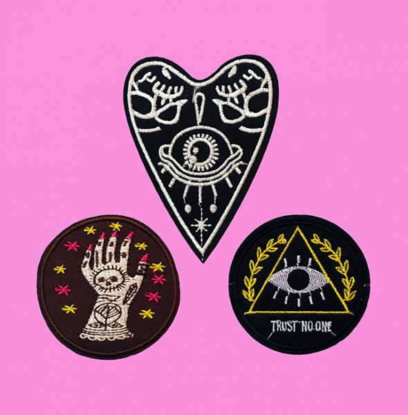 Illuminati Ink patches