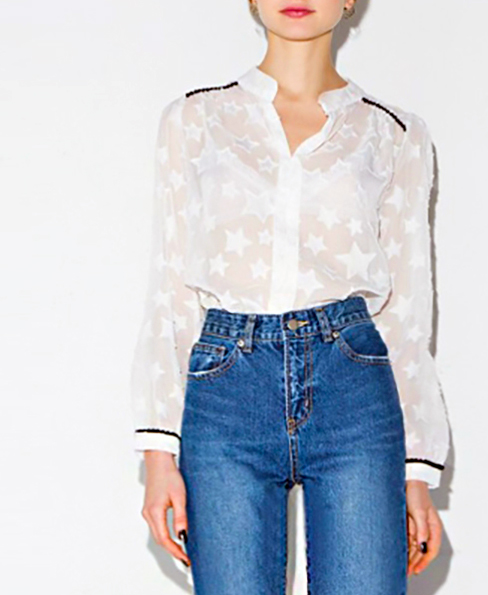 Sheer-Sexy-Star-Pattern-Blouses-Long-Sleeve-Casual