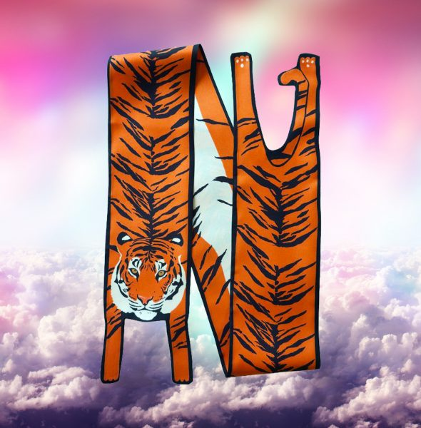 1 Tiger in clouds