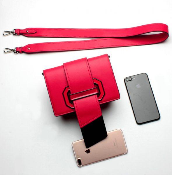 RED RIBBON BAG 1